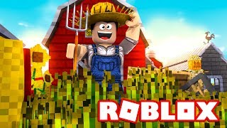 THE BEST SIMULATOR GAME?! -Roblox Farming Simulator English Ep 1