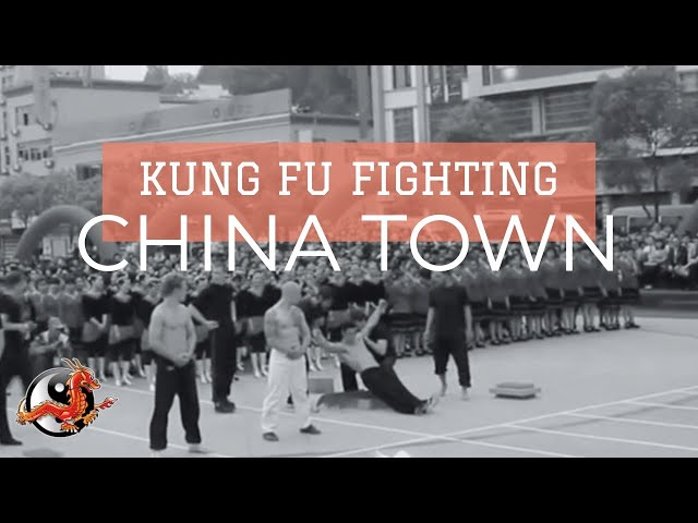 Kung Fu Performance in China Town with Advanced Qigong!