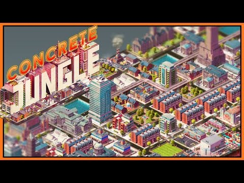 Concrete Jungle - City Planning Meets Deck Building [Let's Play/Gameplay]