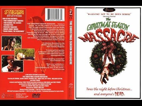The Christmas Season Massacre Full Horror Movie Crazy Santa