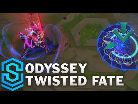 Odyssey Twisted Fate Skin Spotlight - Pre-Release - League of Legends