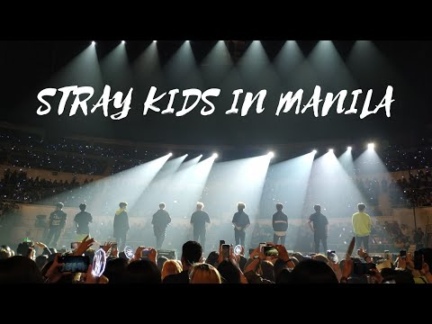 STRAY KIDS IN MANILA  CONCERT VLOG by iamstefidee