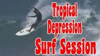 Tropical Depression Surf Suession