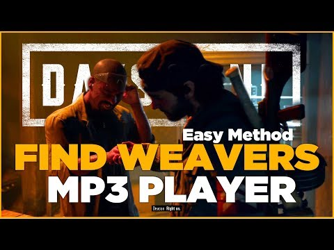 Days Gone | He's Not Big On Tunes | Find Weaver's MP3 Player (Easy Method)