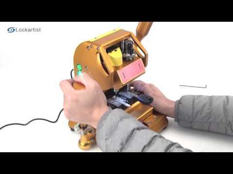 Jinji MINI Vertical Key Cutting Machine From Lockartist,www.lockartist.com