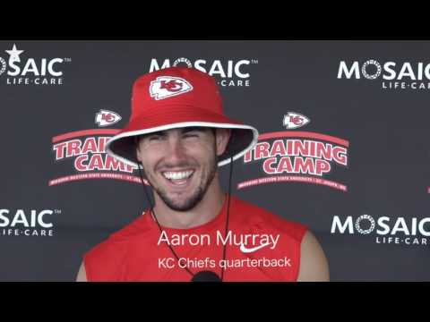 KC Chiefs Quarterbacks Tyler Bray and Aaron Murray Talk About Their Roles
