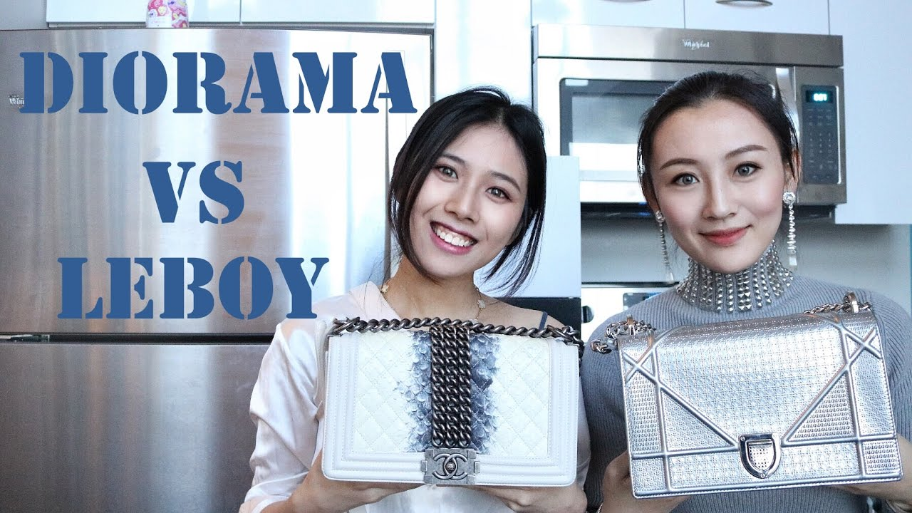 69cc62164018 Dior Diorama   Chanel LeBoy 对比