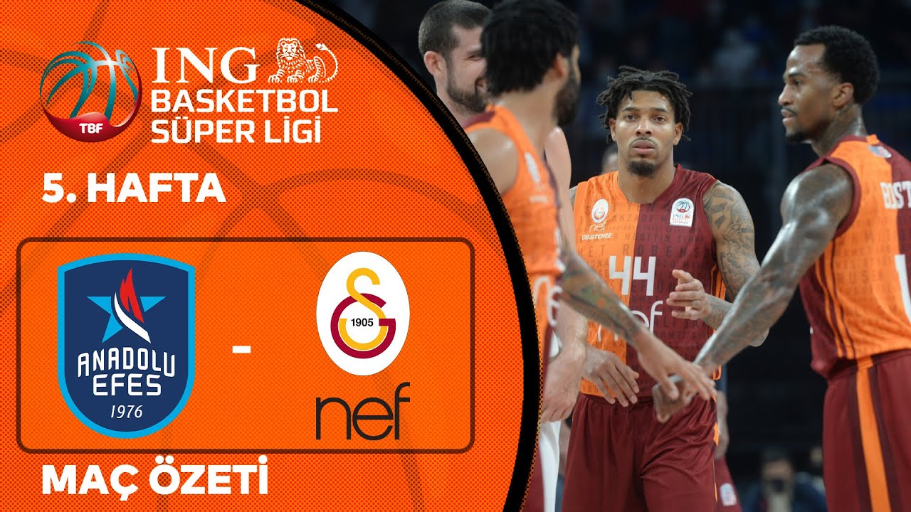 Download BSL 5. Hafta Özet | Anadolu Efes 85-92 Galatasaray Nef