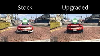 GTA Car Comparison - Stock vs Upgraded (GTA Online) [Clip]