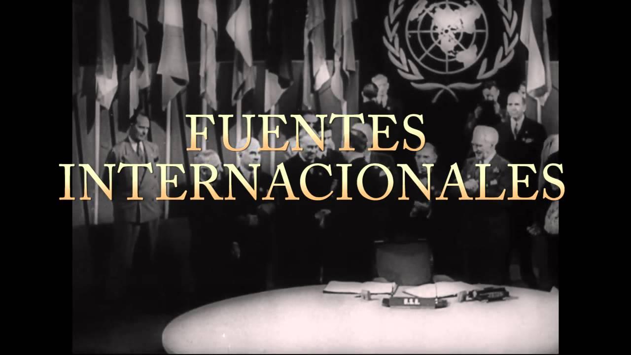 UNITEC TOLUCA - FUENTES DEL DERECHO INTERNACIONAL PRIVADO