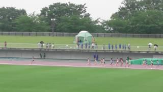 第59回 福島県中学校体育大会 陸上競技 男子共通3000m 予選1組