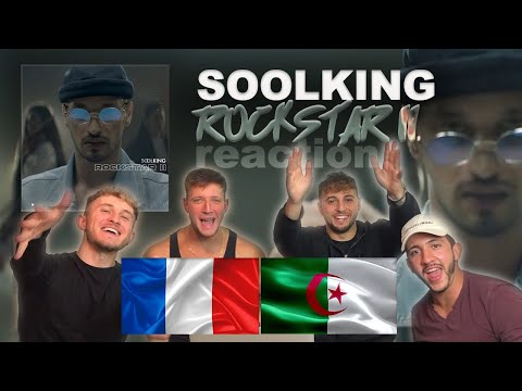 FRENCH MUSIC Soolking – Rockstar 2 UK REACTION | HOUSEM4TES| [Clip Officiel] Prod by Chefi Beat