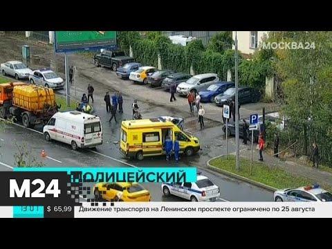 В ДТП на Севастопольском проспекте погиб полицейский - Москва 24