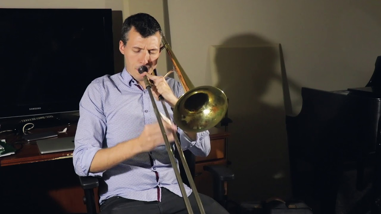 All the Things You Are Trombone Solo Nick Finzer Jazz Trombone Solo Solo  Jazz Standards