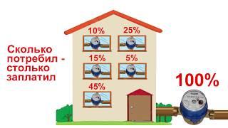 Зачем нужны в квартирах счетчики воды, если в каждом доме будет установлен домовой счетчик?