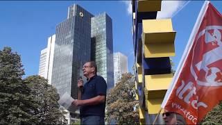 """10 Jahre Finanzkrise - """"Die größte Umverteilung von Arm zu Reich!"""" - Alfred Eibl (attac)"""