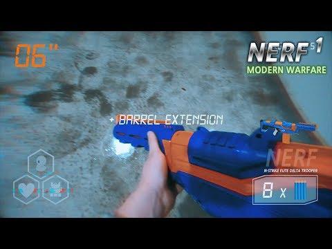 너프 : 모던 워페어 1, 탈취 (코드명: 직박구리) [ 꾹TV ] (Nerf Modern Warfare In Real Life, Extortion)