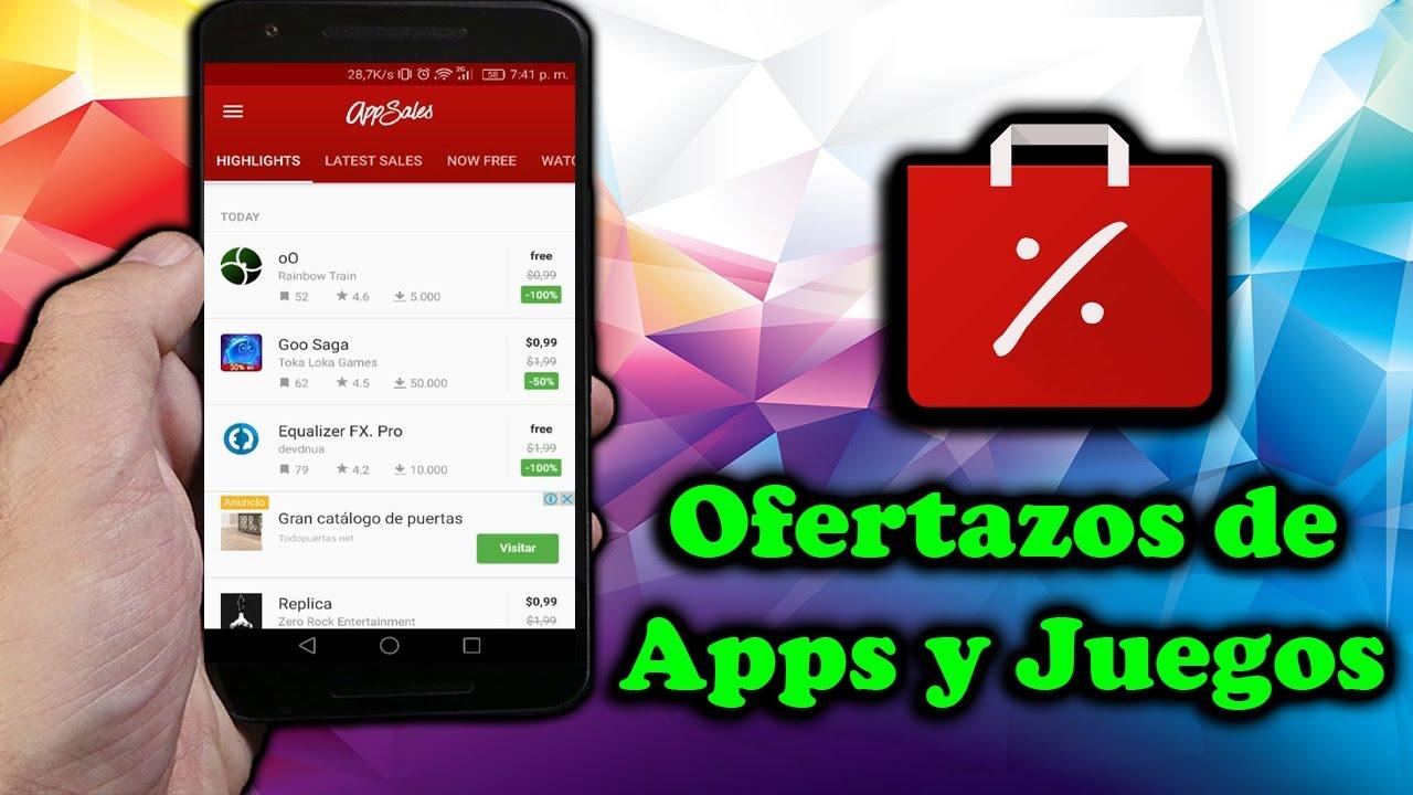 Ofertas De Apps Y Juegos De Google Play Store Pata Tu Android