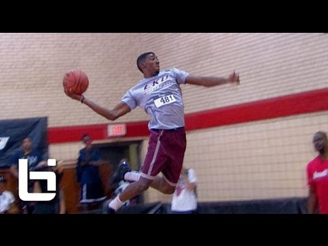 Marcus Lewis (College Dunk Champion) Takes on Ball Up Legends in Chicago