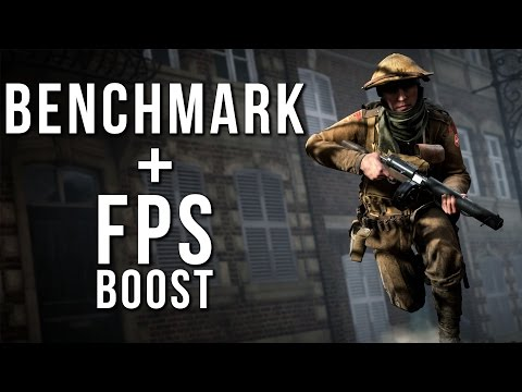 Battlefield 1 GTX 970 Benchmark + 3 Steps to Improve your FPS in BF1