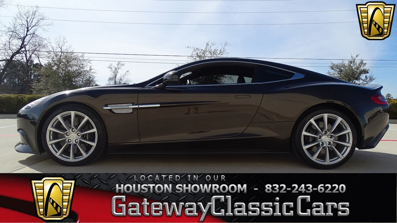 Aston Martin Vanquish Gateway Classic Cars Houston - Aston martin houston