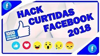Hack de curtidas brasileiras Facebook 2018 (100% FUNCIONAL)