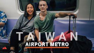 TRAIN To Taipei - ARRIVING Taiwan Airport (Vietnam to Taiwan) ????????