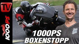 1000PS Boxenstopp   How to Knieschleifen