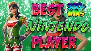 Fortnite Best Nintendo Switch Player 980 Victoires (Solos Boppin BOTS)