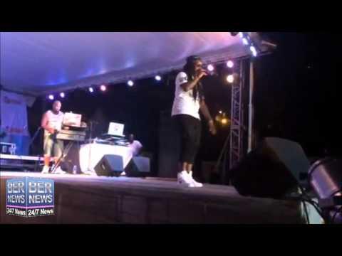 Imari Performs At Bermuda Salute, August 29 2015