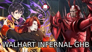FE Heroes - Walhart GHB Infernal with Red Tome Emblem!