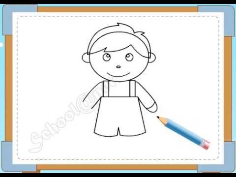BÉ HỌA SĨ - Thực hành tập vẽ 106: Vẽ bé trai