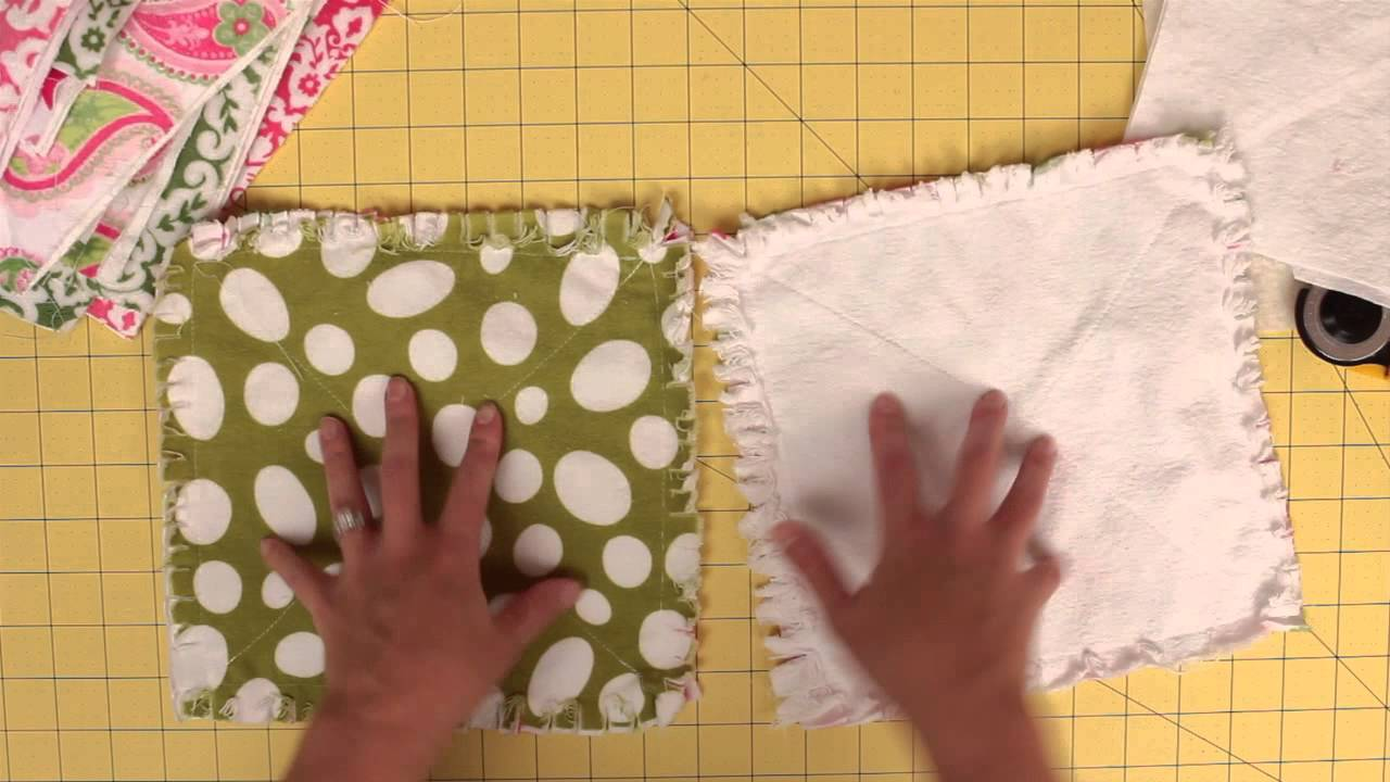 How to prep and cut squares for a rag quilt - YouTube : how to cut a rag quilt - Adamdwight.com