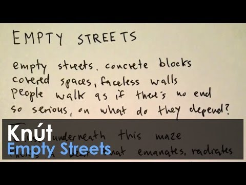 Knút - Empty Streets (with lyrics)