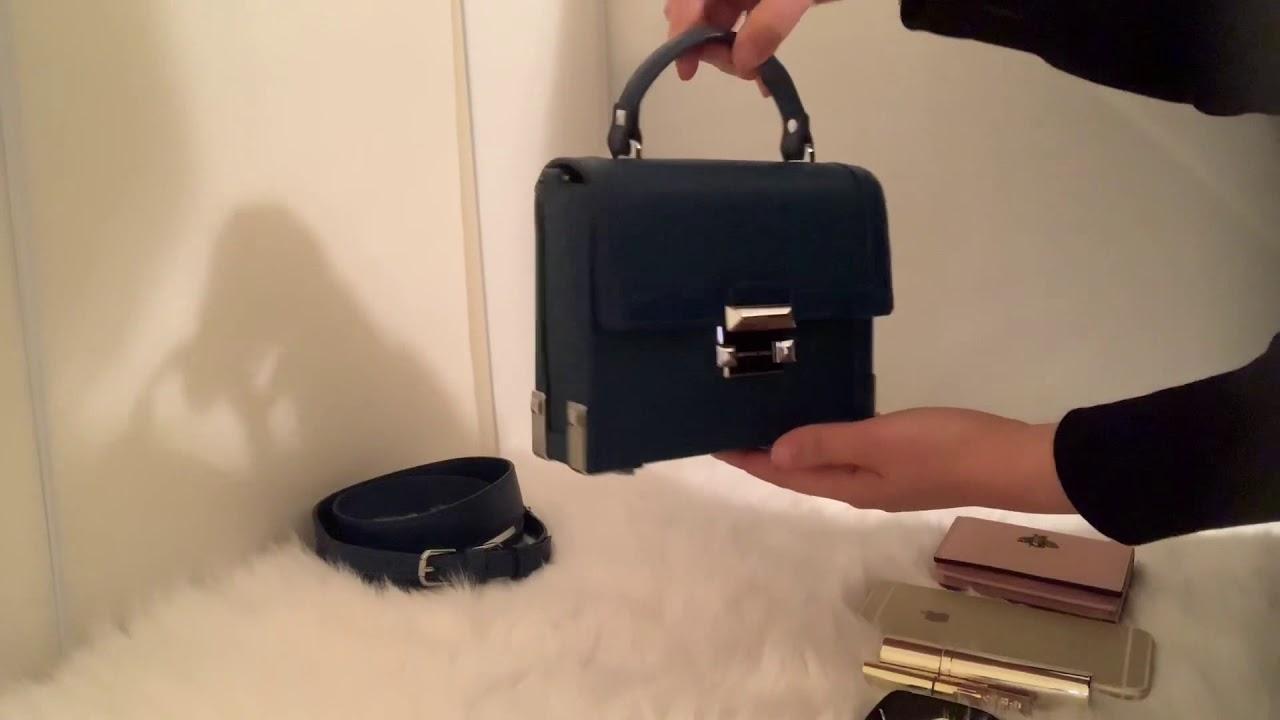 72f14cd1e24 Michael Kors Jayne Small Trunk Bag - YouTube