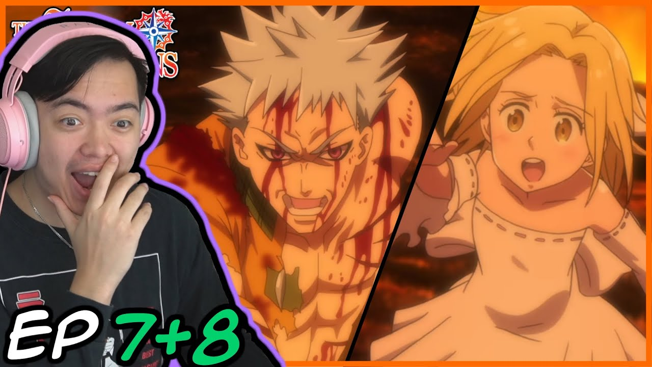 Download HOW BAN BECAME IMMORTAL!! Seven Deadly Sins Episode 7 and 8 Reaction