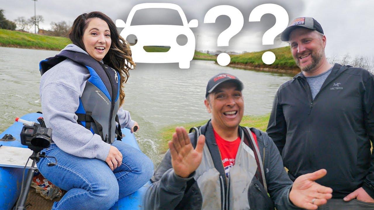 Found XX? Cars Underwater... HILARIOUS PRANK ON SAM