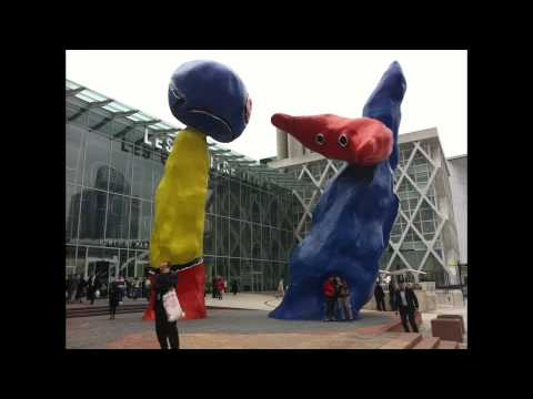 """Joan Miró's """"Woman Addressing the Public: Project for a Monument"""""""