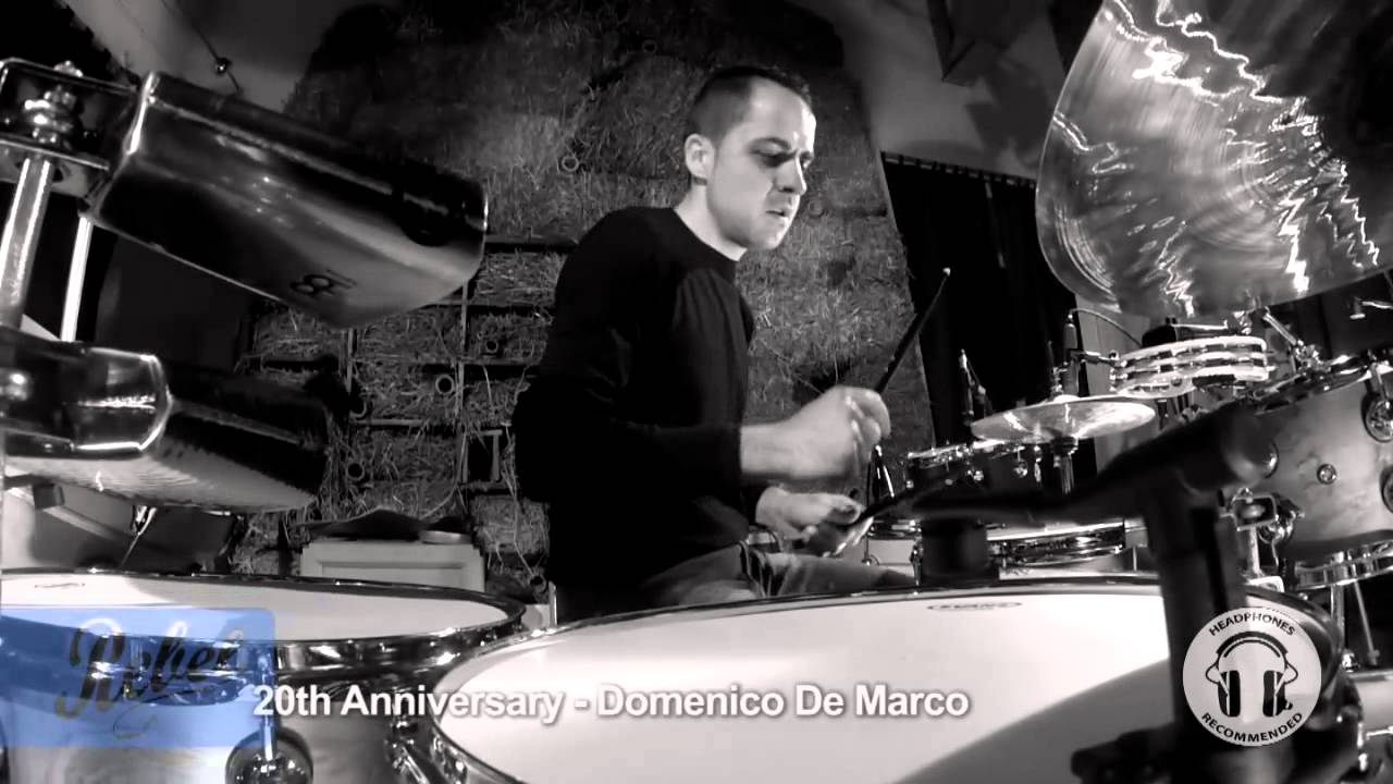 20th Anniversary - Domenico De Marco - Drum Solo - YouTube