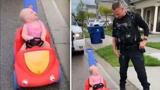 Too Cute: Cops Pull Over Toddlers