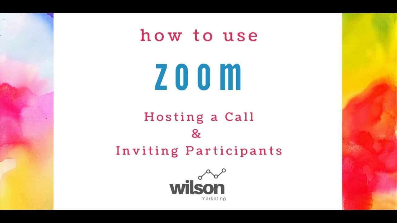 Zoom: How to Set Up a Video Conference & Invite Participants
