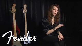 Fender Vision   Backstage with Melissa Auf der Maur   Fender