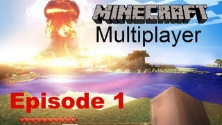 Minecraft - Multiplayer | Episode 1 | Houses and The Civil War Guitar