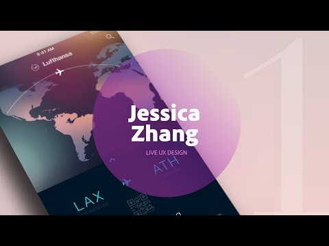 Live UX Design with Jessica Zhang 1/3
