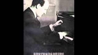"""Louis Kentner plays Liszt """"Illustrations du Prophète"""" (after Meyerbeer)"""