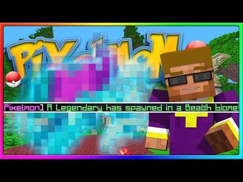 Crew Pixelmon - WE ACTUALLY FOUND A LEGENDARY!   Episode 9, Season 2 (Minecraft Pokemon Mod)