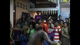 7 Lord Muni Dancing (1) show in LORD MUNISWAREN TEMPLE  at West Jelutong Penang