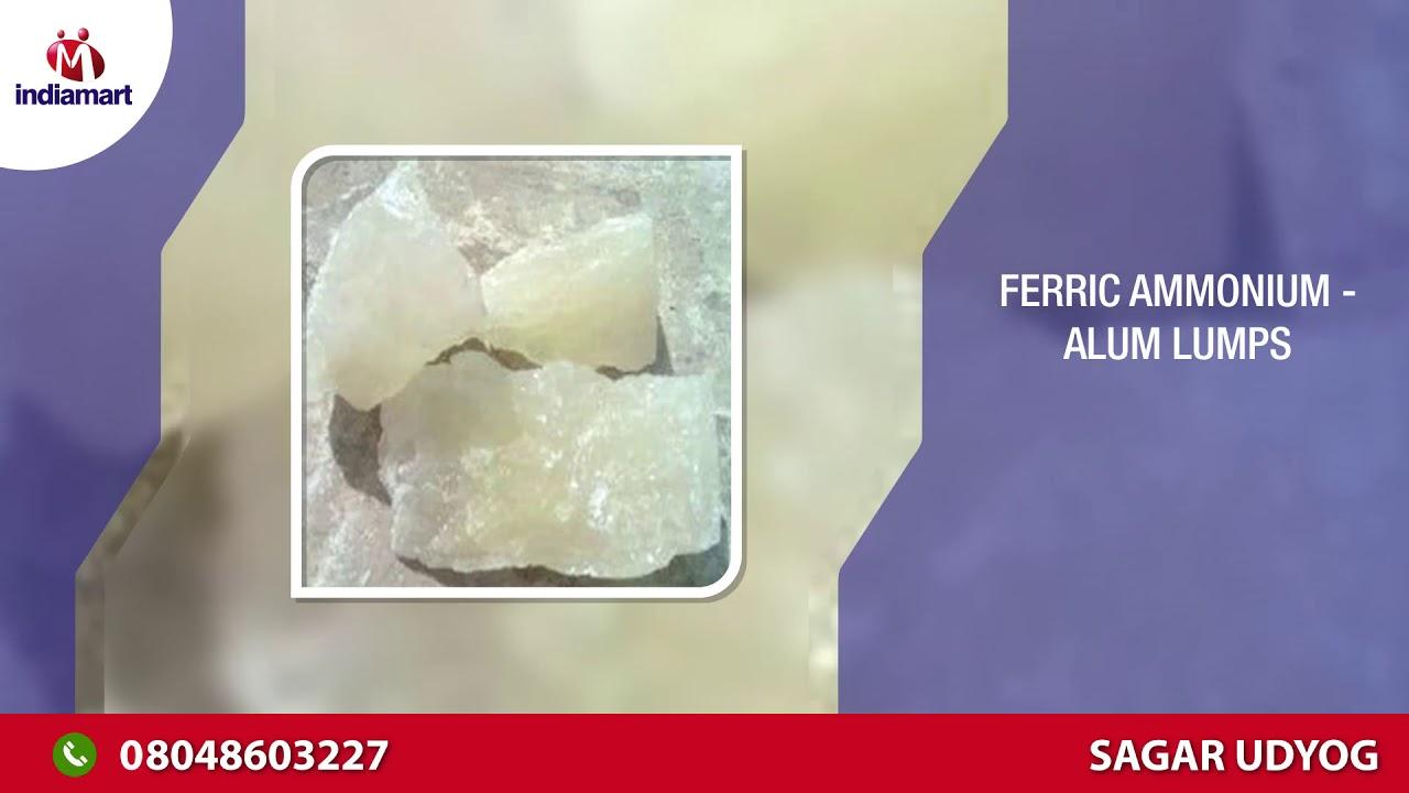 Ferric Ammonium- Alum Powder