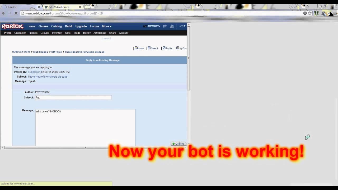 Bot Forum