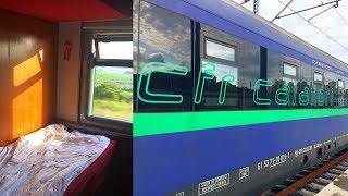 Train Bucharest - Istanbul Halkali in Empty CFR Sleeping Car